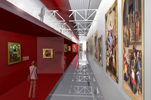 National Pinacotheca – Fine Arts Academy / Preliminary enlargement project