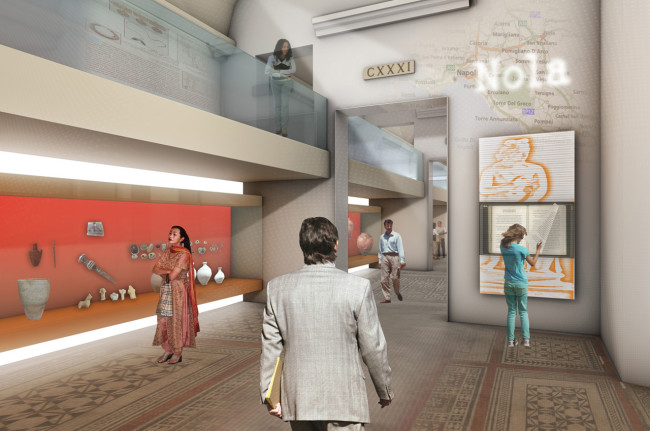 MANN Museum / Preliminary Prehistory and Roman sections project