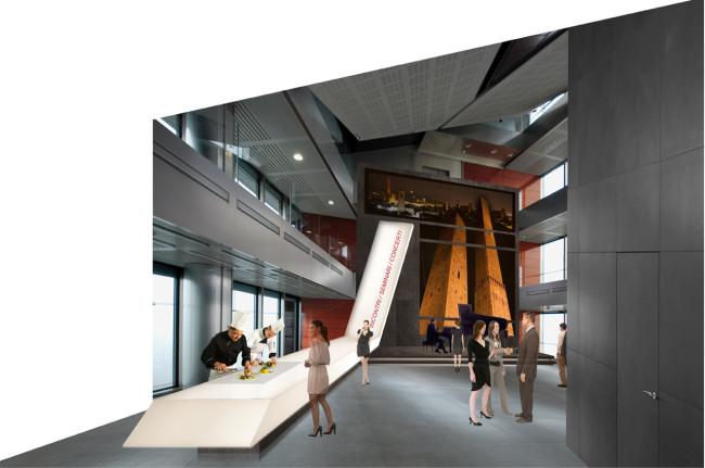 Concorso per la progettazione di spazi multifunzionali for Piccoli piani di progettazione in studio